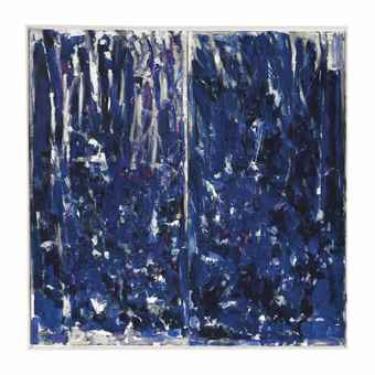 Joan Mitchell-Une pensee pour Zouka-1976