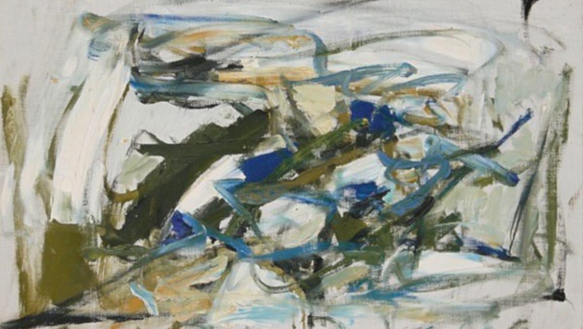 Joan Mitchell - Untitled, c 1957 (detail)