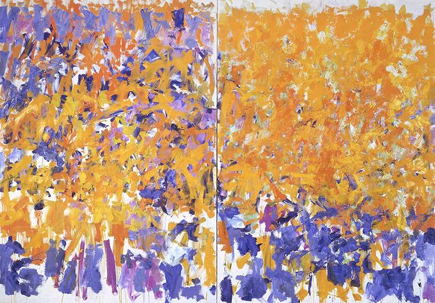 Mitchell used to read news about the life and paintings of new york expressionists who painted trees. faq
