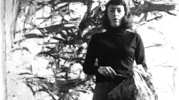 joan mitchell life artist chicago museum 1992 france