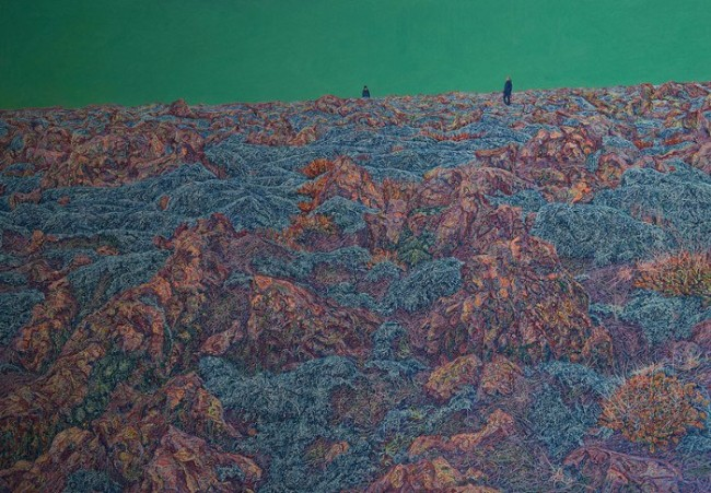 Joanna Kirk - On A Headland of Lava Beside You, 2014