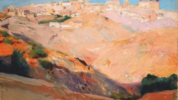 Joaquín Sorolla y Bastida - View of Toledo