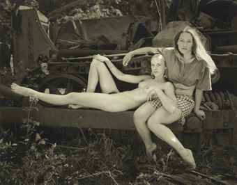 Jock Sturges-Misty Dawn and Christina, Northern California-1996