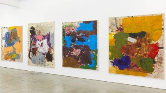 Joe Bradley - Bradley's pieces at Gavin Brown - Image via gavinbrown-biz