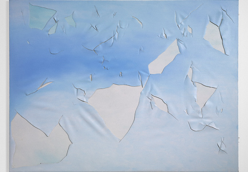 Joe Goode, Torn Cloud Painting 73, 1972