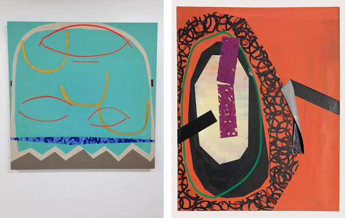 Joe Kupillas - What Video Games Have Taught Me Concerning Philosophies of Death, 2013 (left) Hijab, 2012 (right)