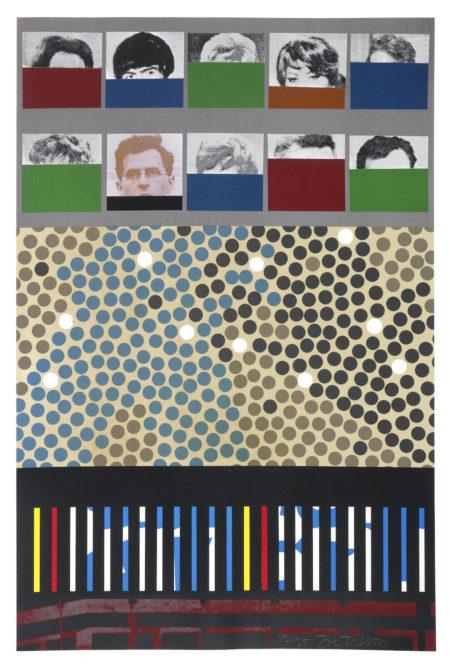 Joe Tilson-A-Z box...Fragments of an Oneiric Alphabet  26 box-1970