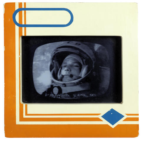 Joe Tilson-Transparency I: Yuri Gagarin 12 April 1961-1968