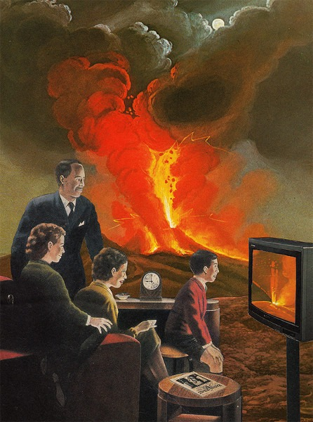 Joe Webb - TV Times, 2014, photo credits - Joe Webb, collages