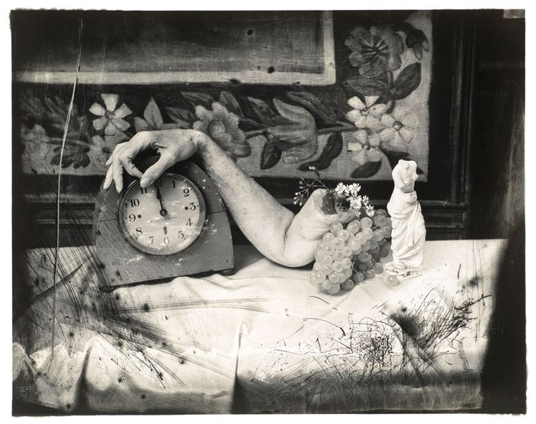 Joel-Peter Witkin, Anna Akhmatova, Paris, via photography-in.berlin