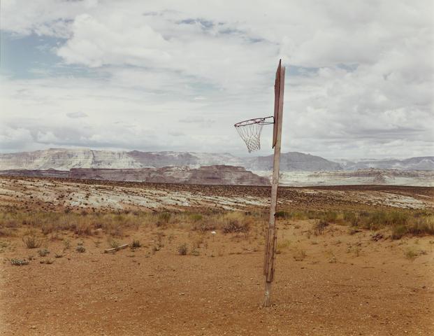 Joel Sternfeld-Near Lake Powell, Arizona-1979