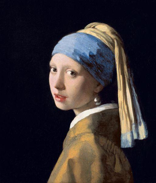 Johannes Vermeer - Girl With a Pearl Earring, c. 1665