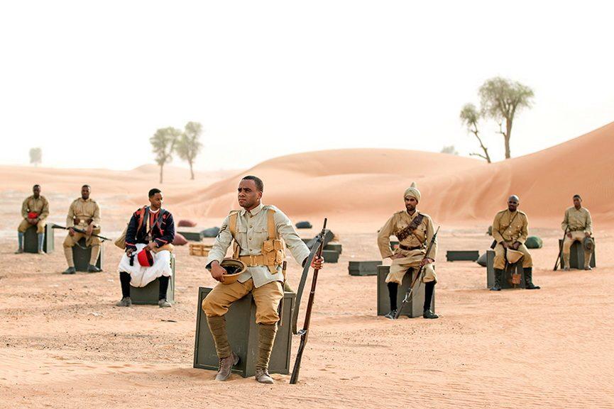 John Akomfrah - Soldiers Sitting