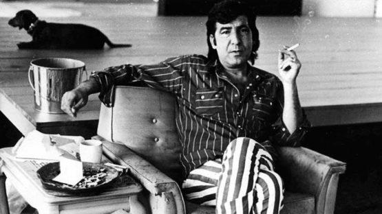 John Altoon in his studio, ca. 1968 - Photo by Joe Goode