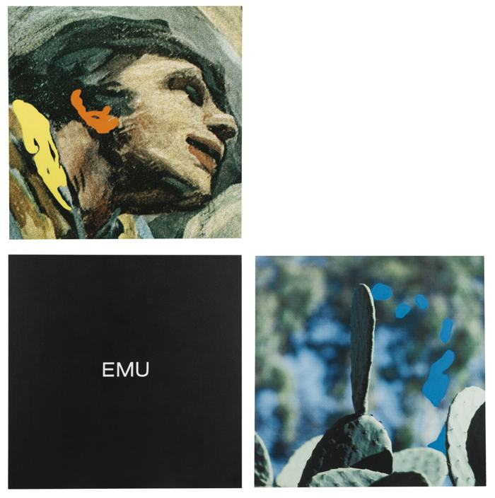 John Baldessari-Elbow Series - Emu-1999