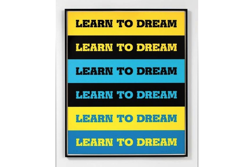 John Baldessari - Learn to Dream, 2011