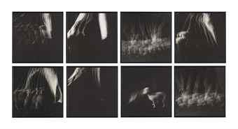 John Baldessari-Strobe Series/Futurist: Dog on Leash (For Balla) (Version B)-1975