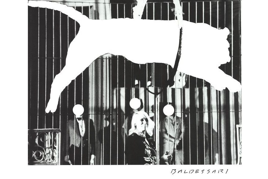 John Baldessari - Tiger with No Stripe