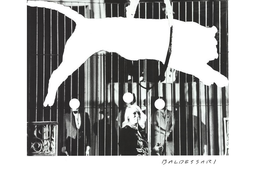 John Baldessari - Tiger with No Stripes