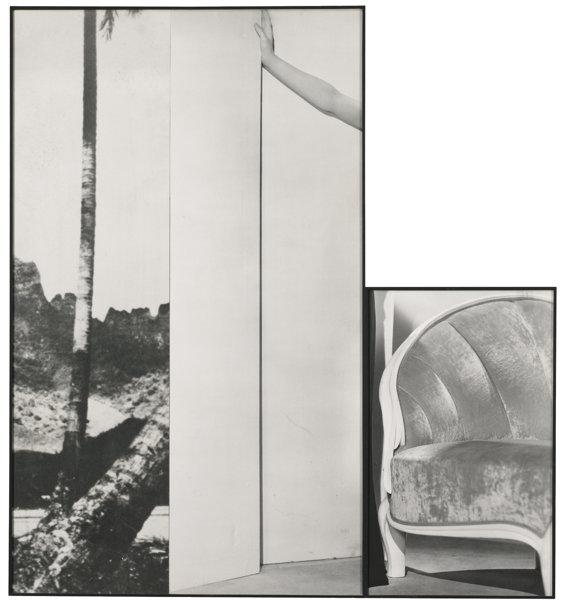 John Baldessari-Tree, Hand, Chair-1988