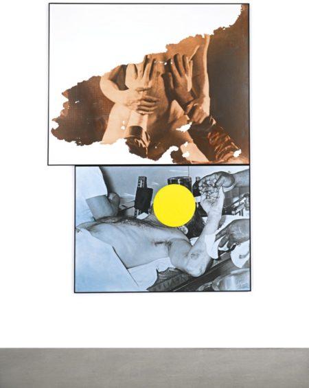 John Baldessari-Two Chests (Heart And Soul)-1991
