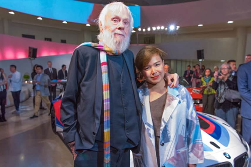 John Baldessari and Cao Fei home cars new 2015 news video series twitter race best