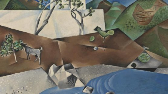 John Craxton - Hotel by the Sea, 1946 (Detail) - Tate Collection