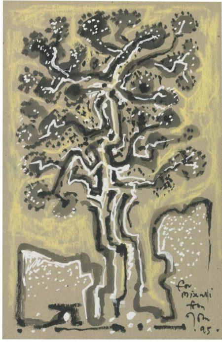 John Craxton-Tree-1995