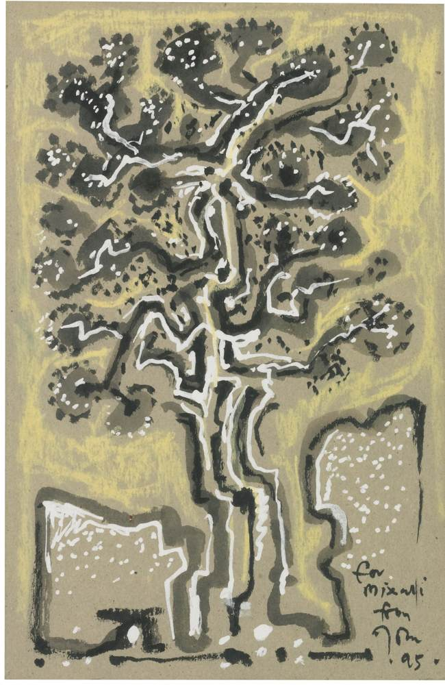 John Craxton-Tree-1995