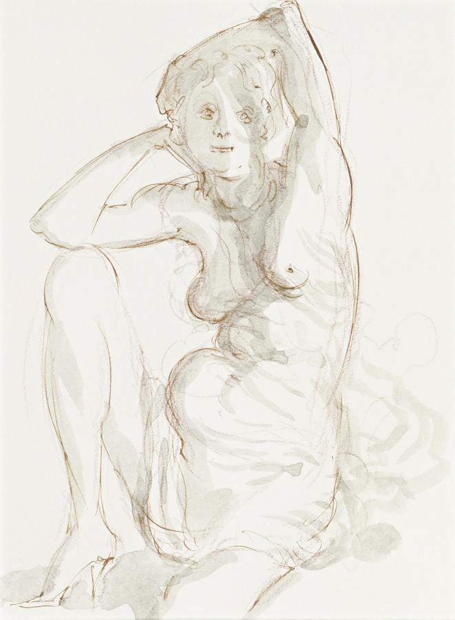 John Currin-Draped Figure-2015