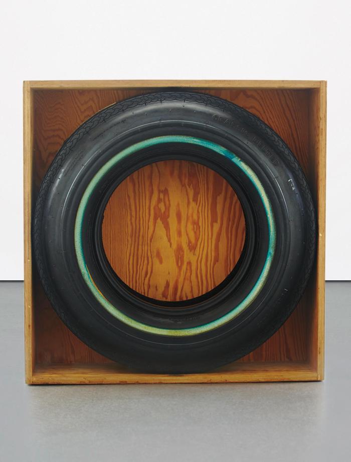 John Dogg-Untitled, Blue Wall-1986