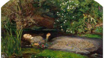John Everett Millais Ophelia painting