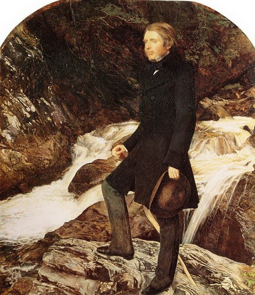 John Everett Millais - Portrait of John Ruskin