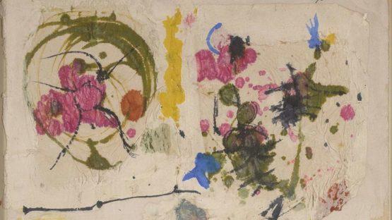 John Ferren - Untitled, 1954 (detail)