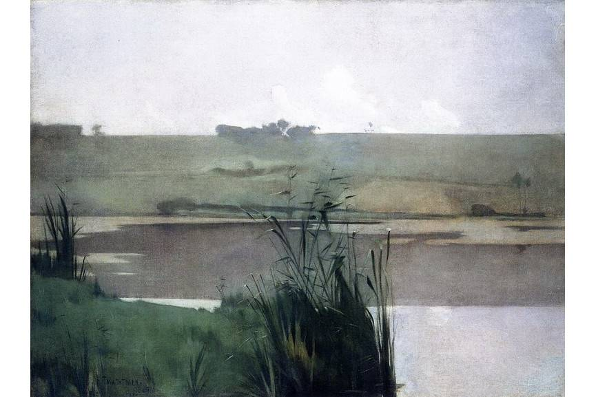 John Henry Twachtman - Arques-la-Bataille