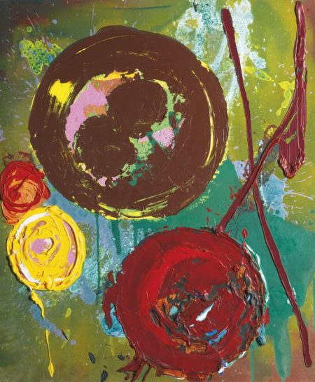 John Hoyland-Eblis-1988