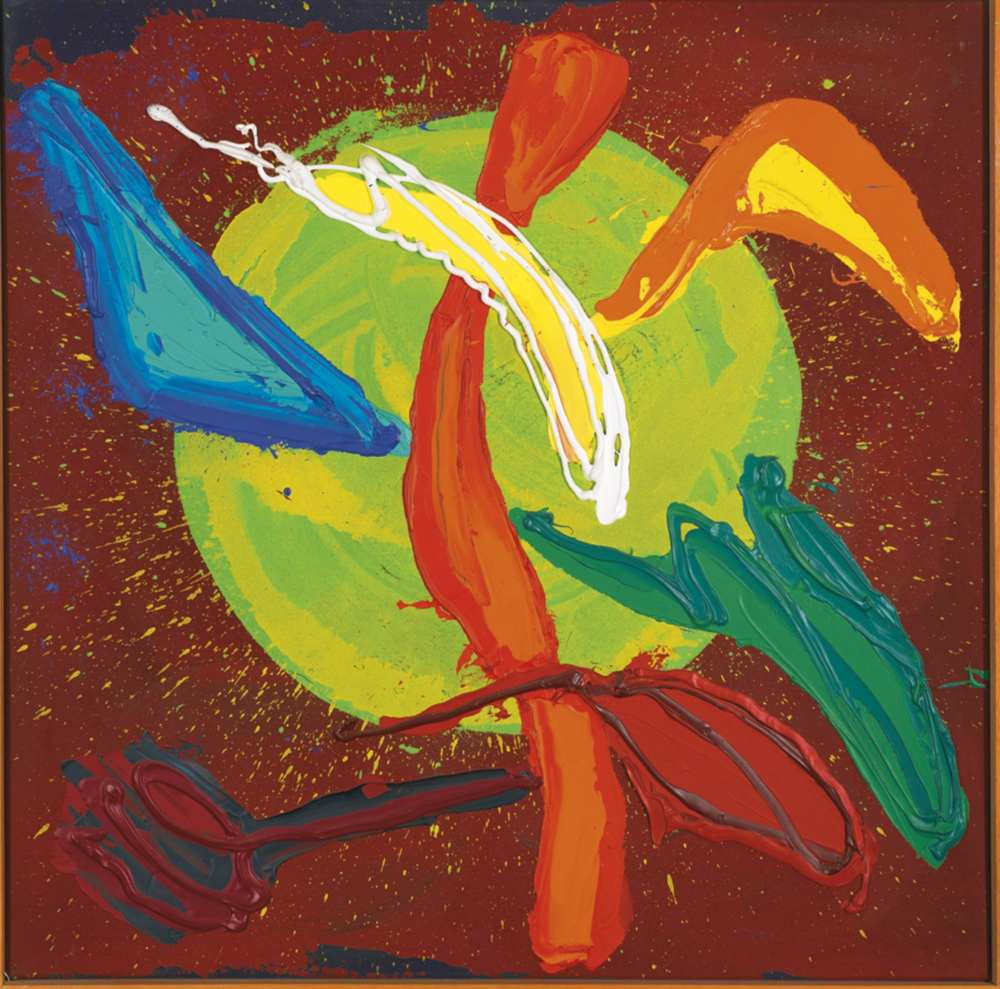 John Hoyland-Jamaican New Year-1988