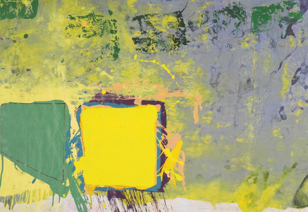 John Hoyland-Untitled-
