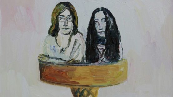 John Kilduff - John and Yoko, Double Scoop, 2018 (detail)