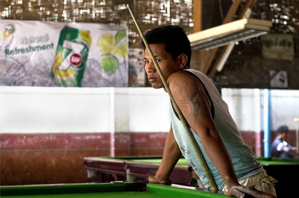 John Lucas - Untitled #2 Mandalay, 2013, Asian Snooker, photo credits - artist