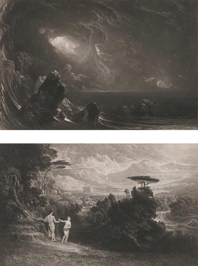John Martin-Illustrations Of The Bible-1835