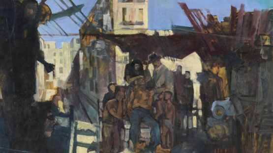 John Minton - Composition - The Death of James Dean, 1957 (Detail) - Tate Collection