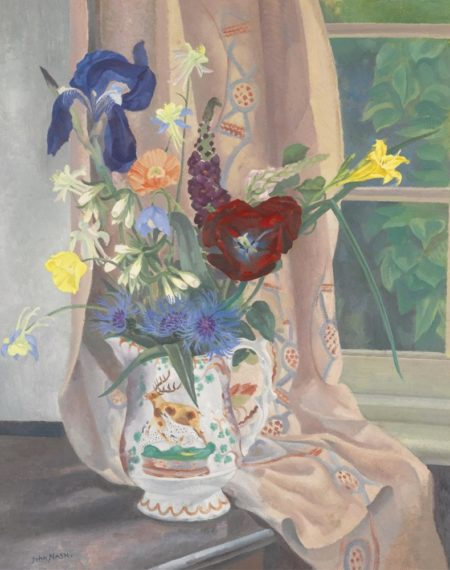 John Nash-Summer Flowers-