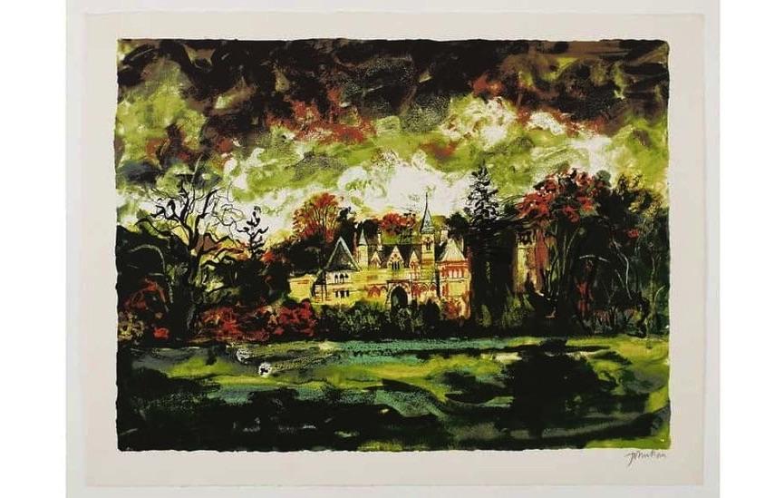 John Piper - Ettington Park, 1977