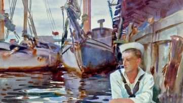 John Singer Sargent - Basin with Sailor