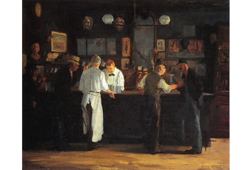 The American museum of Henri Glackens holds most AS artworks
