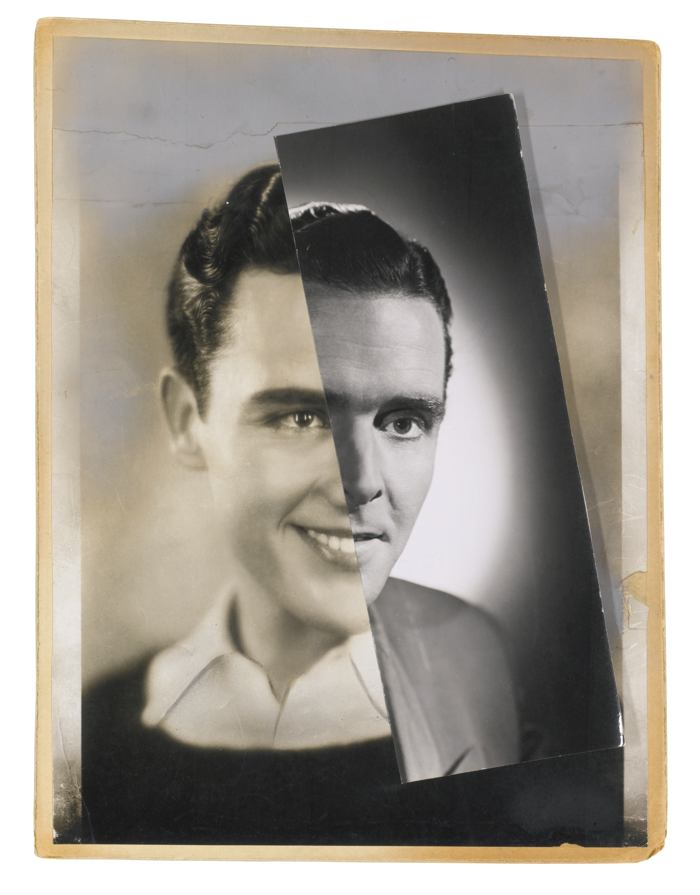 John Stezaker-He (Film Portrait Collage) XXIV-2012
