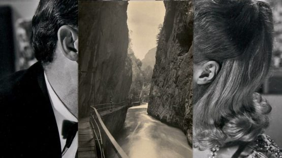 John Stezaker - Pair IV (Detail), 2007 - Photo by Alex Delfanne, Image source The Guardian