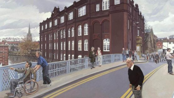 John Wonnacott - The Norwich School of Art, 1982–4 (Detail) - Copyright John Wonnacott, Tate Collection