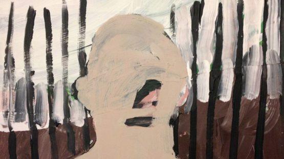 Jon Campbell - Skin, 2012, detail